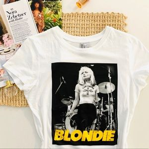 Blondie Band Graphic T-shirt Tee Size Small